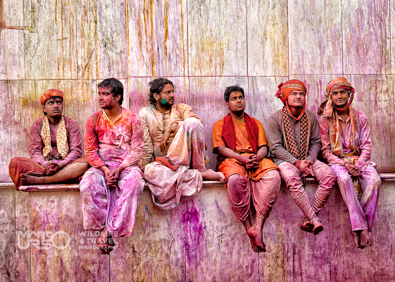 Festival dei Colori di Holi - India -Momento di riposo - Photo By Marco Urso photographer